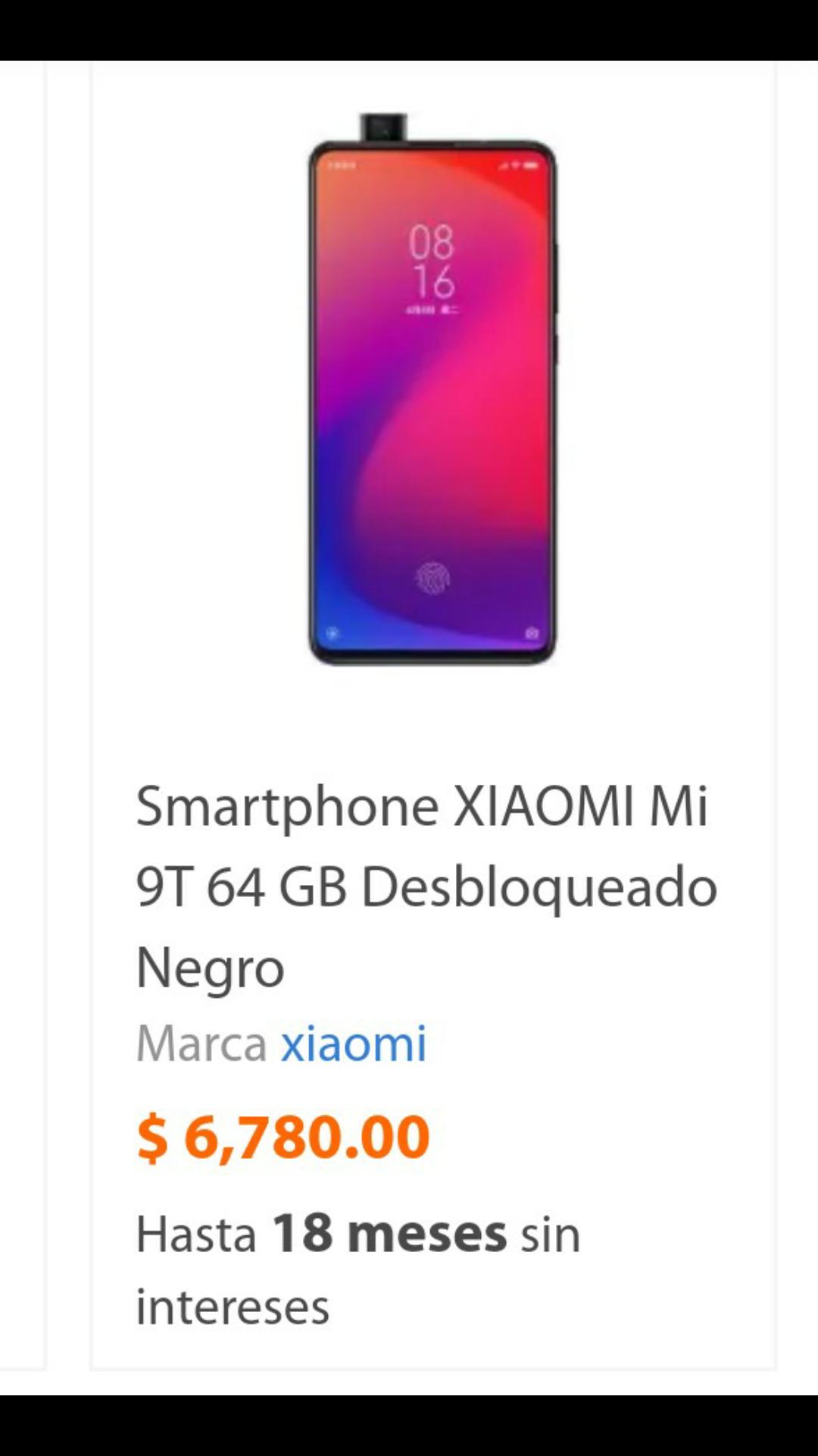 Walmart: Xiaomi mi 9t