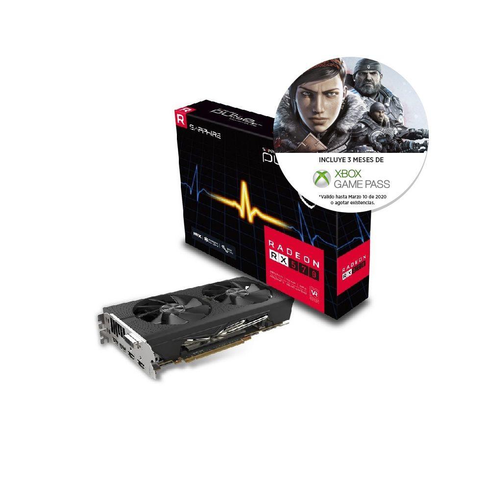 Dimercom: SAPPHIRE PULSE RX570 4G (INCLUYE XBOX GAME PASS 3 MESES)