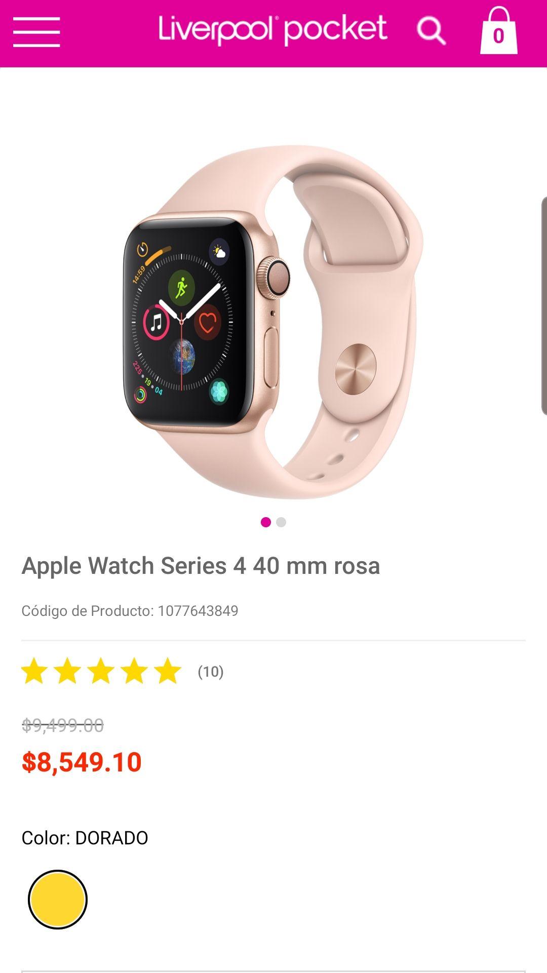 Liverpool: Apple watch
