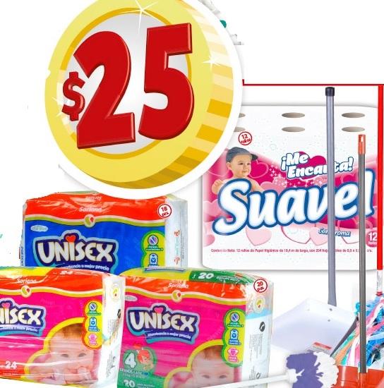 Soriana Mercado y Express: Paquete de Pañales Soriana a $25