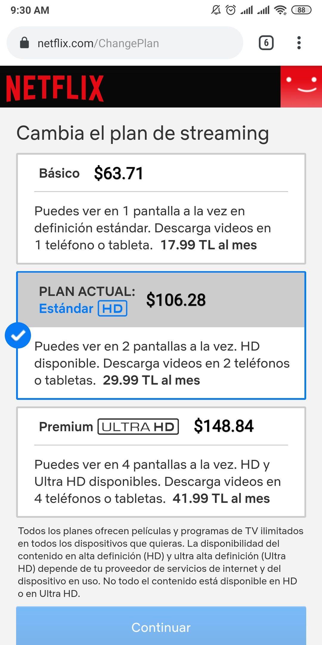 Netflix Turquia 2.0 (Plan 4K= $148) + TUTORIAL CON IMAGENES