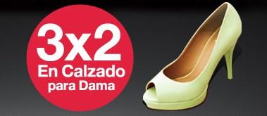 Sears: 3x2 en calzado para mujer