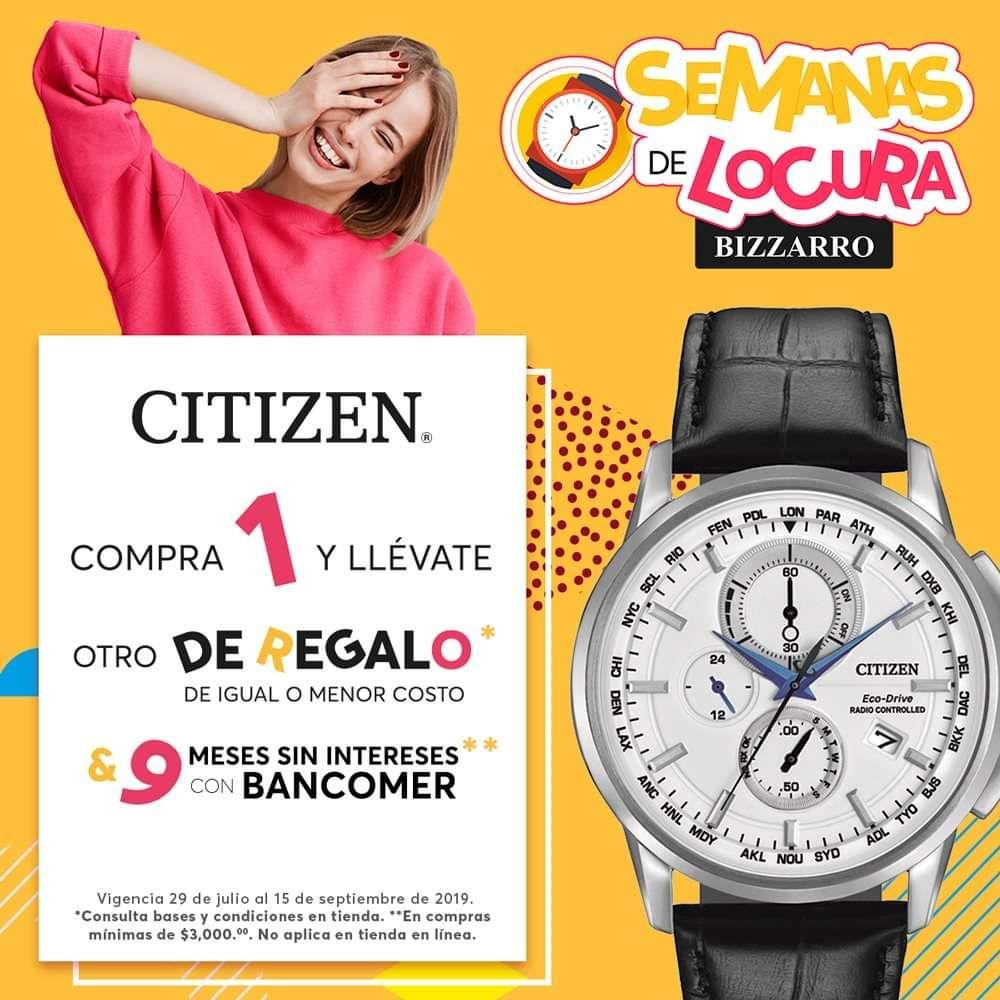 Joyerías Bizarro: Relojes Citizen 2x1