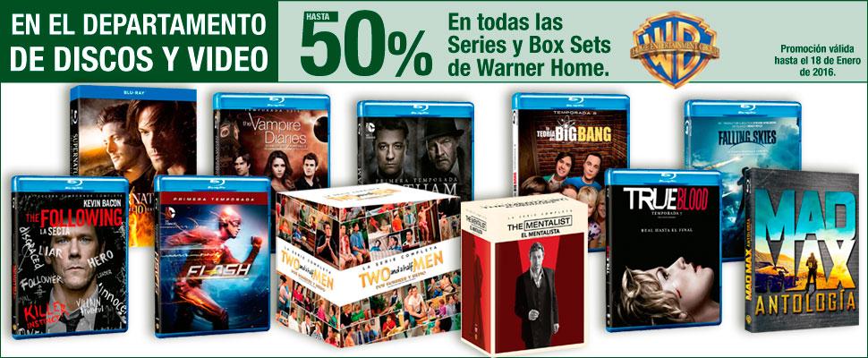 Sears: Hasta 50% de descuento en dpto. de discos y videos