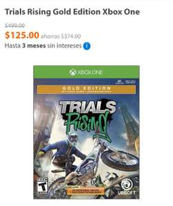 Walmart: Trials Gold Edition Xbox One