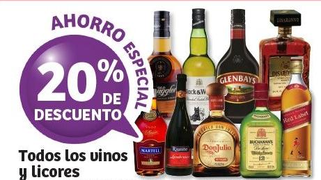 Soriana: 40% en vinos y licores (20% + 2x1 1/2)