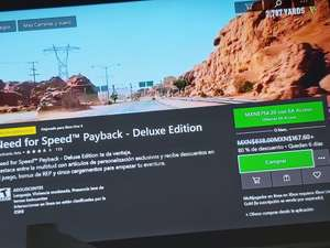 Microsoft Store: Need for speed payback deluxe edition