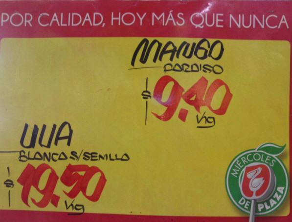 Miércoles de plaza La Comer junio 19: uva $19.50 y más