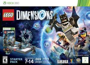 AMAZON MÉXICO :LEGO Dimensions  - Xbox 360 Starter Pack Edition $660