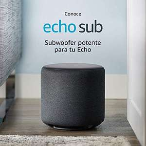 Amazon: Echo Sub, Subwoofer potente para tu Echo