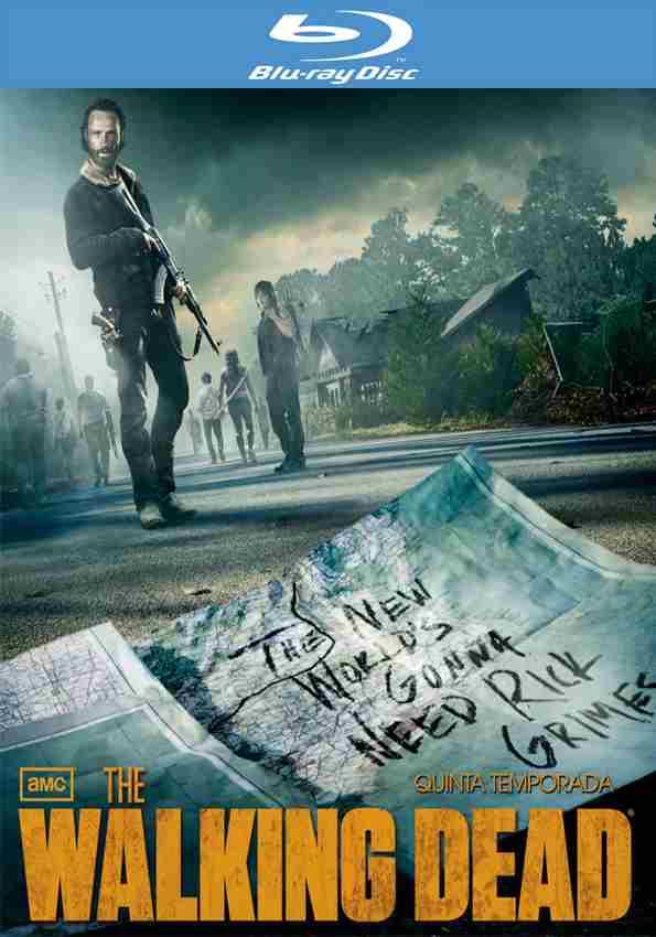 B Store (sólo sucursales): The Walking Dead Temporada 5 Blu-ray (4 discos)