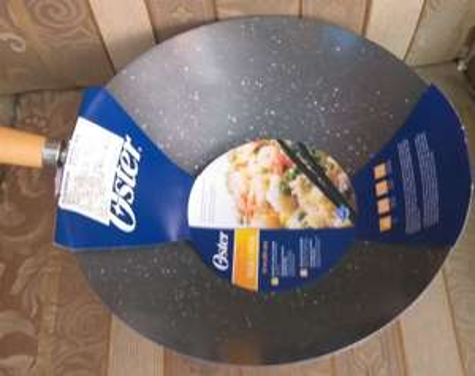 Chedraui sartén oster 30 cm colores