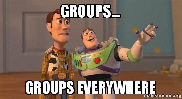 ¡Habemus Grupos!