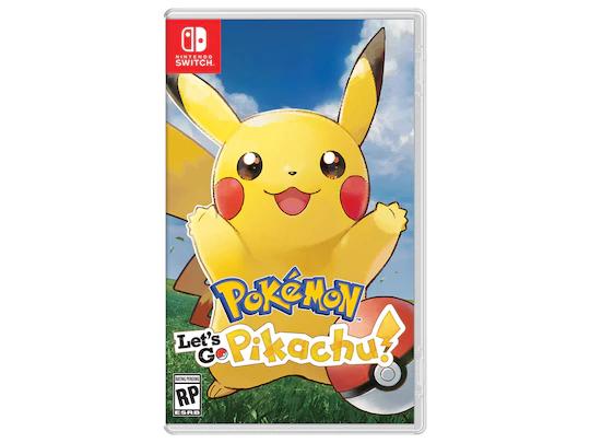 Liverpool: Pokémon Let's Go Pikachu Nintendo Switch