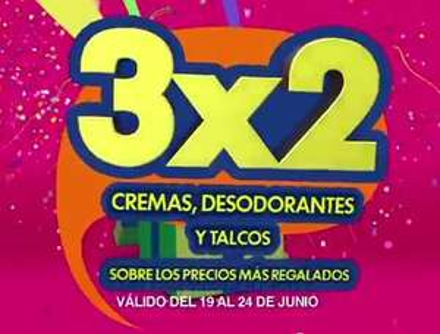 Julio Regalado en La Comer: 3x2 en cremas, desodorantes y talcos