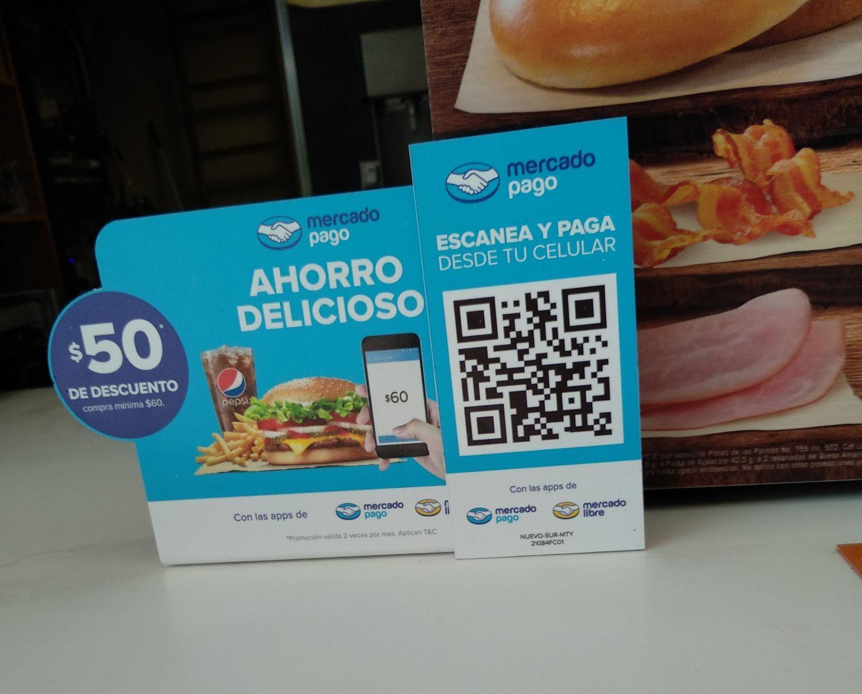 Burger King: Descuento de 50 pesos pagando con Mercado Pago