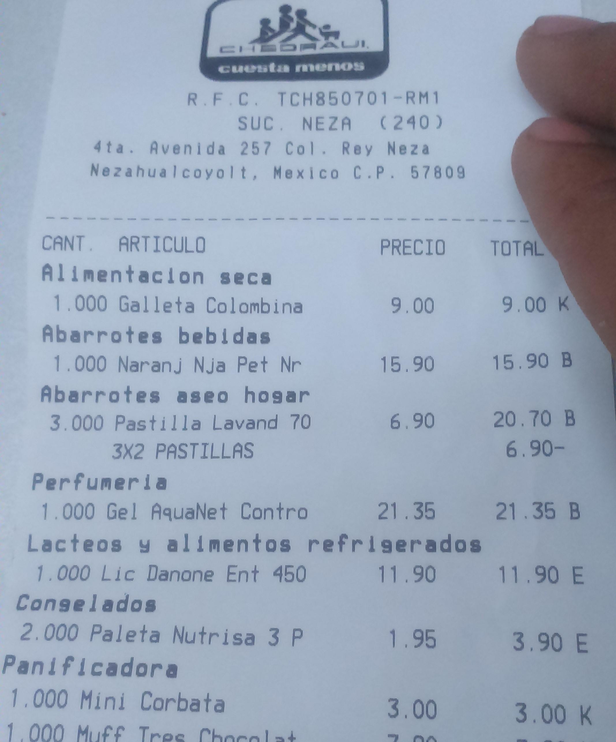 Chedraui Neza: Paletas de Yogurt Nutrisa 3x$1.95