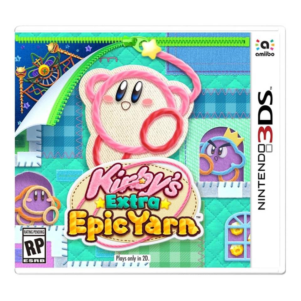 Walmart: Kirby's Extra Epic Yarn para Nintendo 3DS