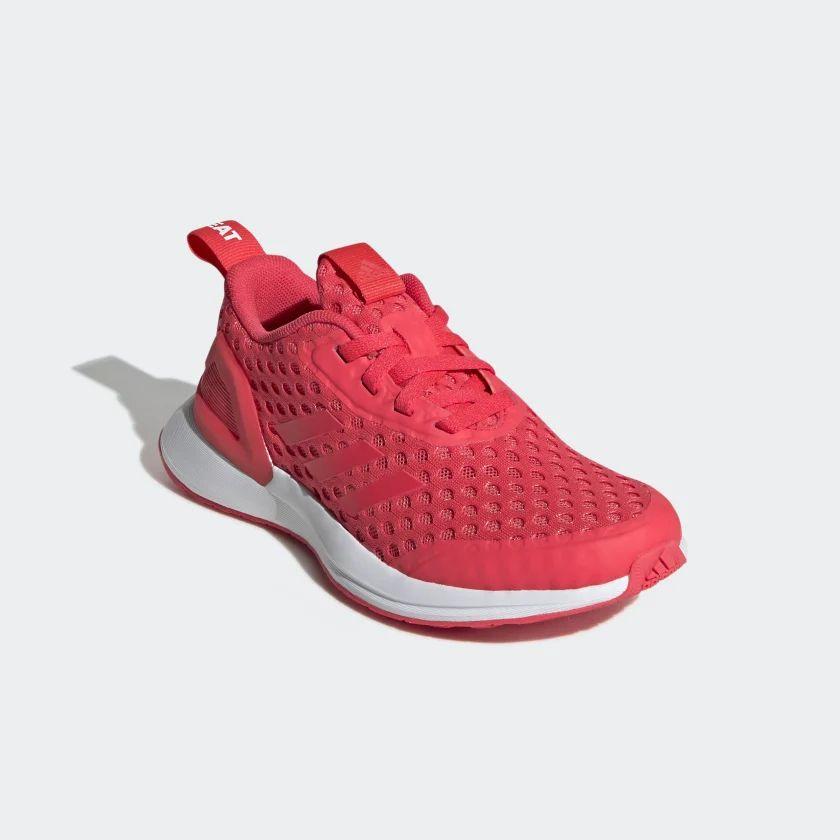 Adidas:TENIS RAPIDARUN X BTH color Rojo y Naranja