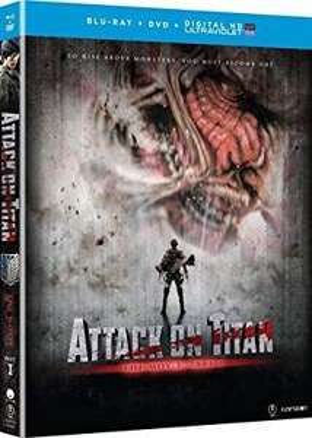 Amazon: Attack on Titan Movie Part 1 (Blu-ray + DVD)