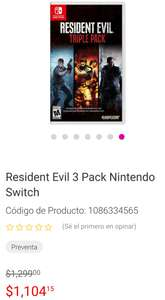 Liverpool: Resident evil triple pack a $883
