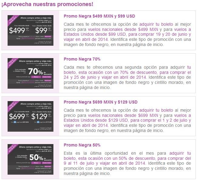 Volaris: promo negra para abril 2014 (Semana Santa)