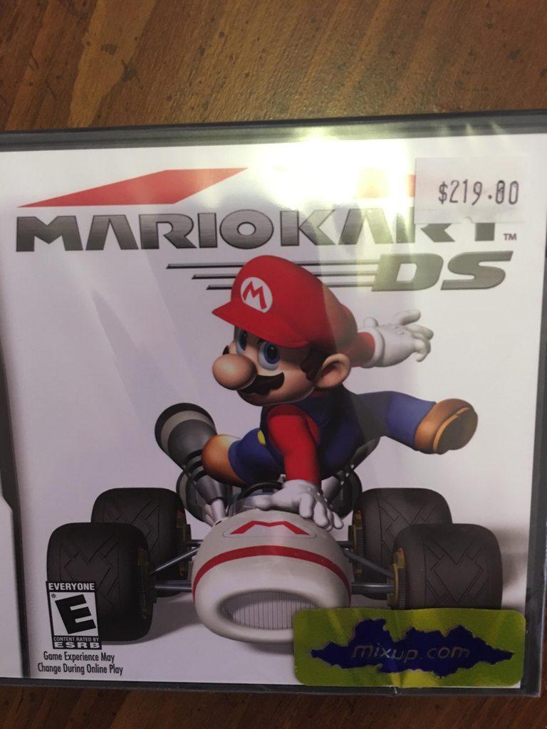 Mixup: Mario Kart DS a $219