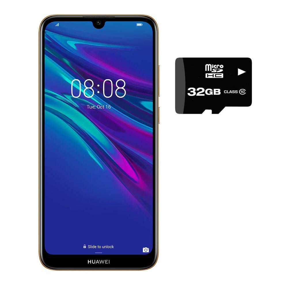 Walmart: Smartphone Huawei Y6 2019 32GB+2GB Dual Sim + Micro SD 32GB Desbloqueado