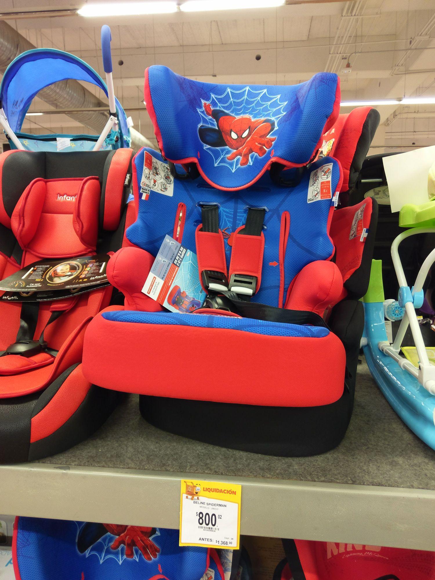 Walmart Patio Santa Fe: autoasiento para bebé en segunda rebaja