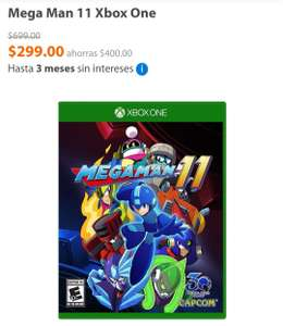 Walmart: Mega Man 11 Xbox One