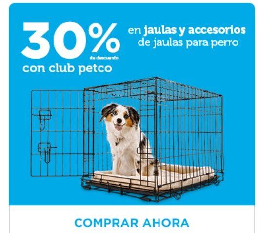 Petco: 30% de descuento en jaulas y accesorios para jaulas.