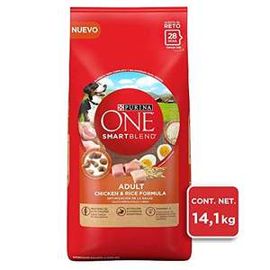 Amazon One Smart Blend para Perros Adultos, Pollo y Arroz, 14.1 kg