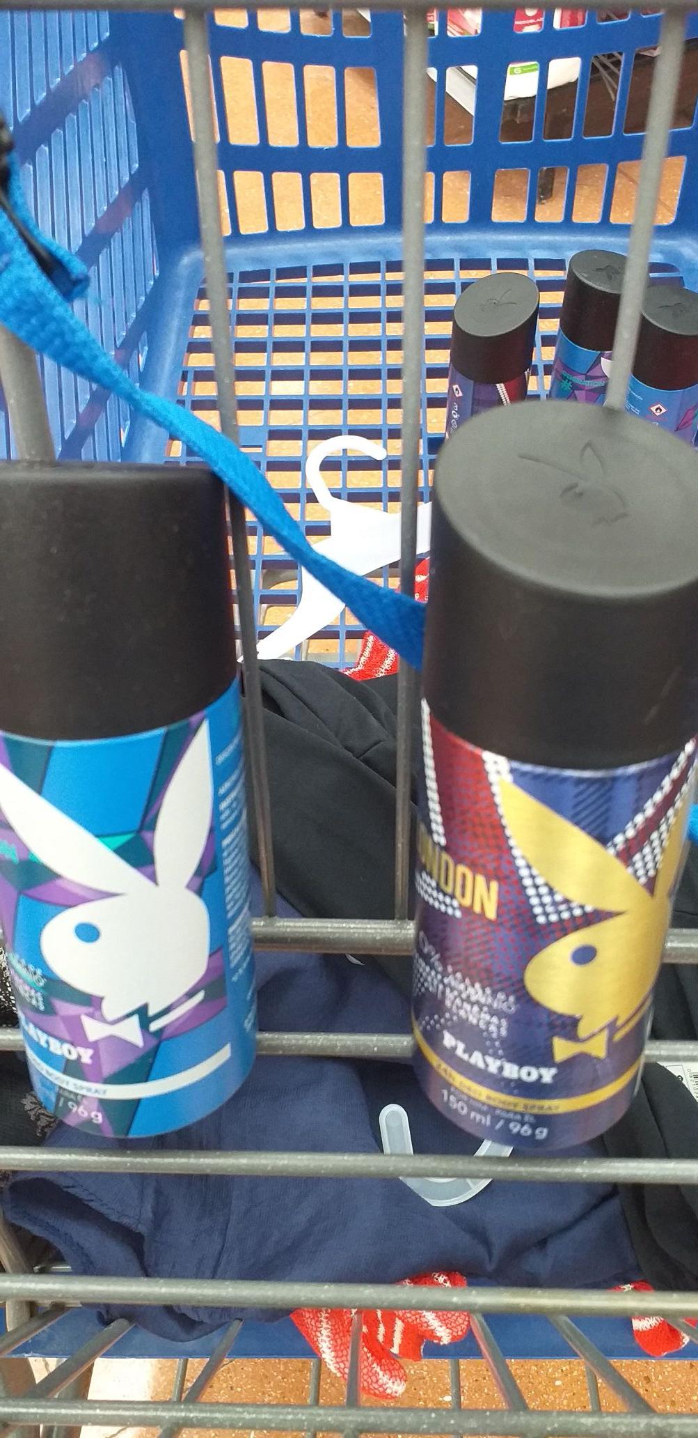 Walmart tezontle Desodorante para hombre Playboy a $20.03