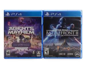 Coppel: Star Wars: Battlefront II y Agents of Mayhem para PS4