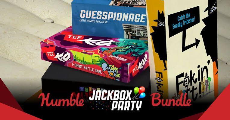 Jackbox Party pack 1-4 y otros juegos