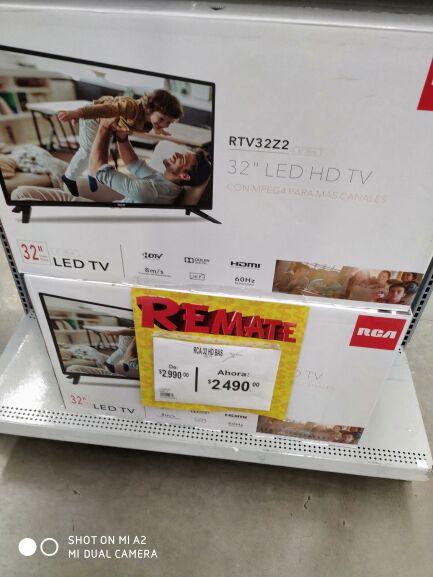 """Bodega Aurrera: TV RCA HD 32"""", Ghia FHD 40'' y más"""