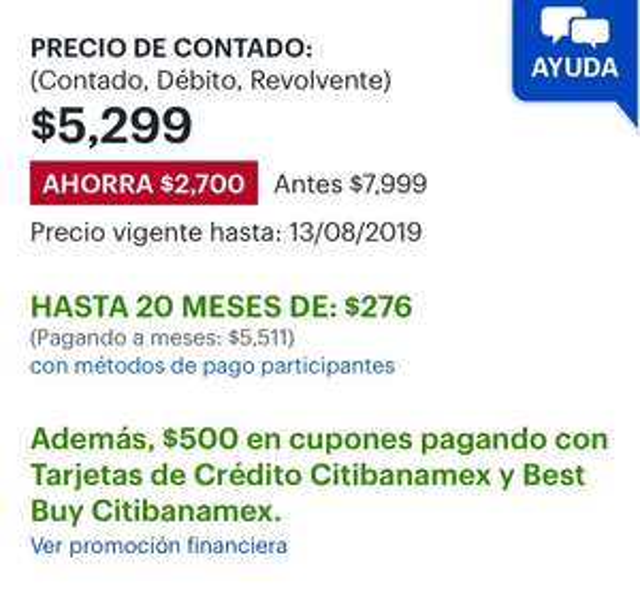 Best Buy: Daewoo - Lavadora 18 Kg  + Cupón $500 Banamex