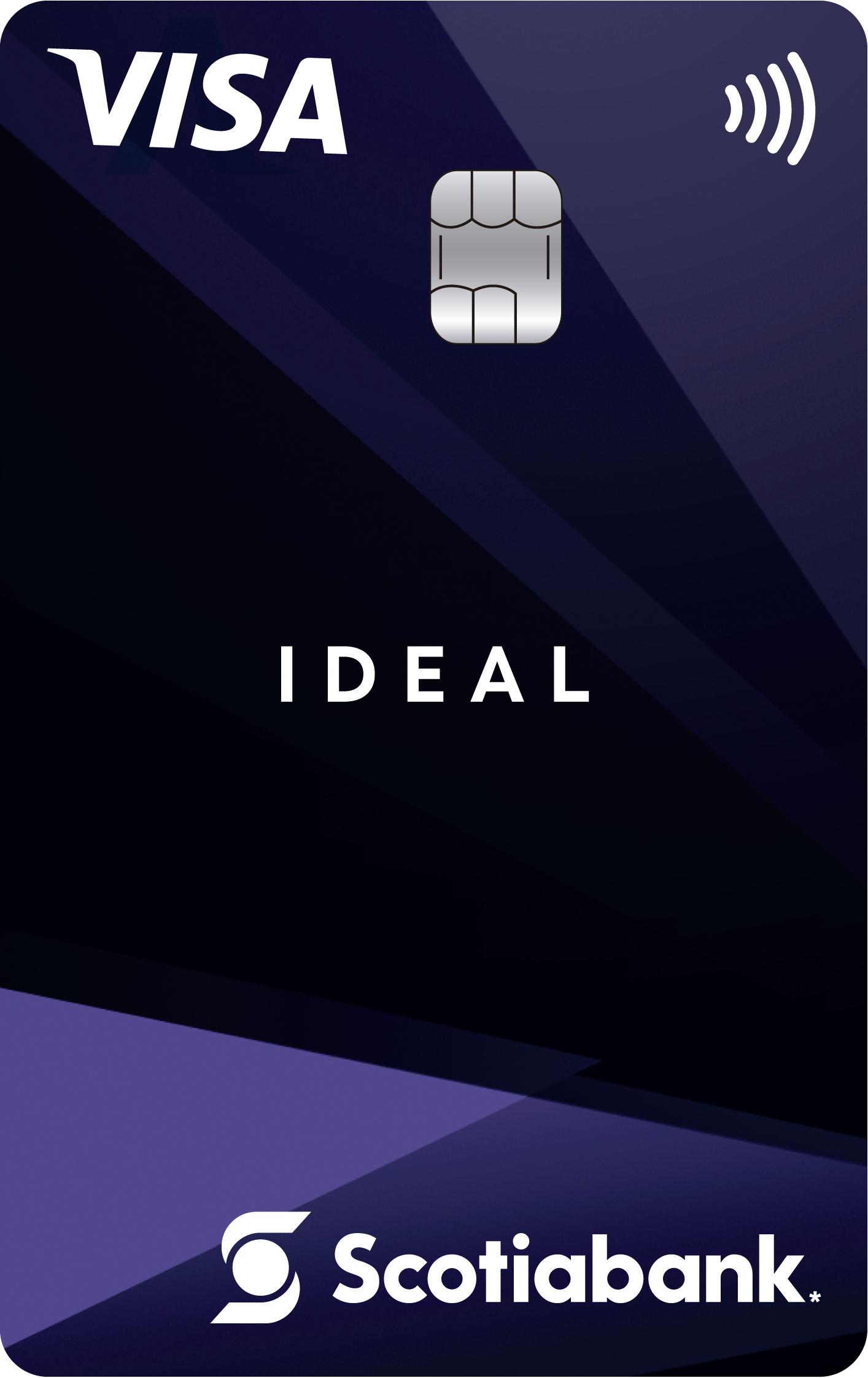 Scotiabank: Nueva TDC IDEAL. Sin anualidad, sin comisión por disposición de efectivo.