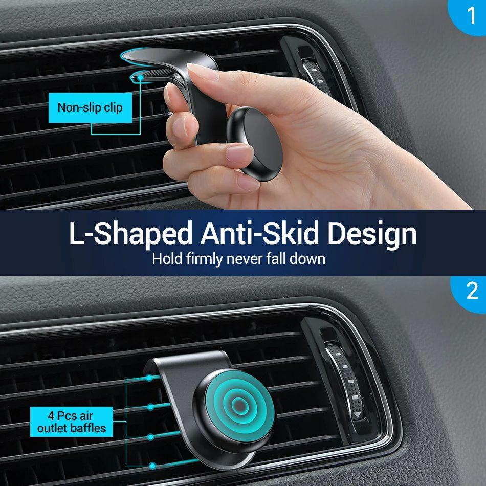 AliExpress: Soporte magnético para coche