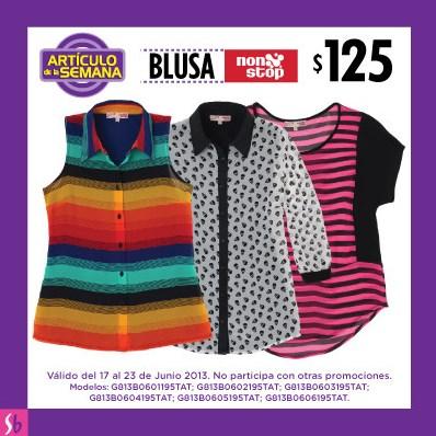 Artículo de la semana Suburbia: blusa a $125