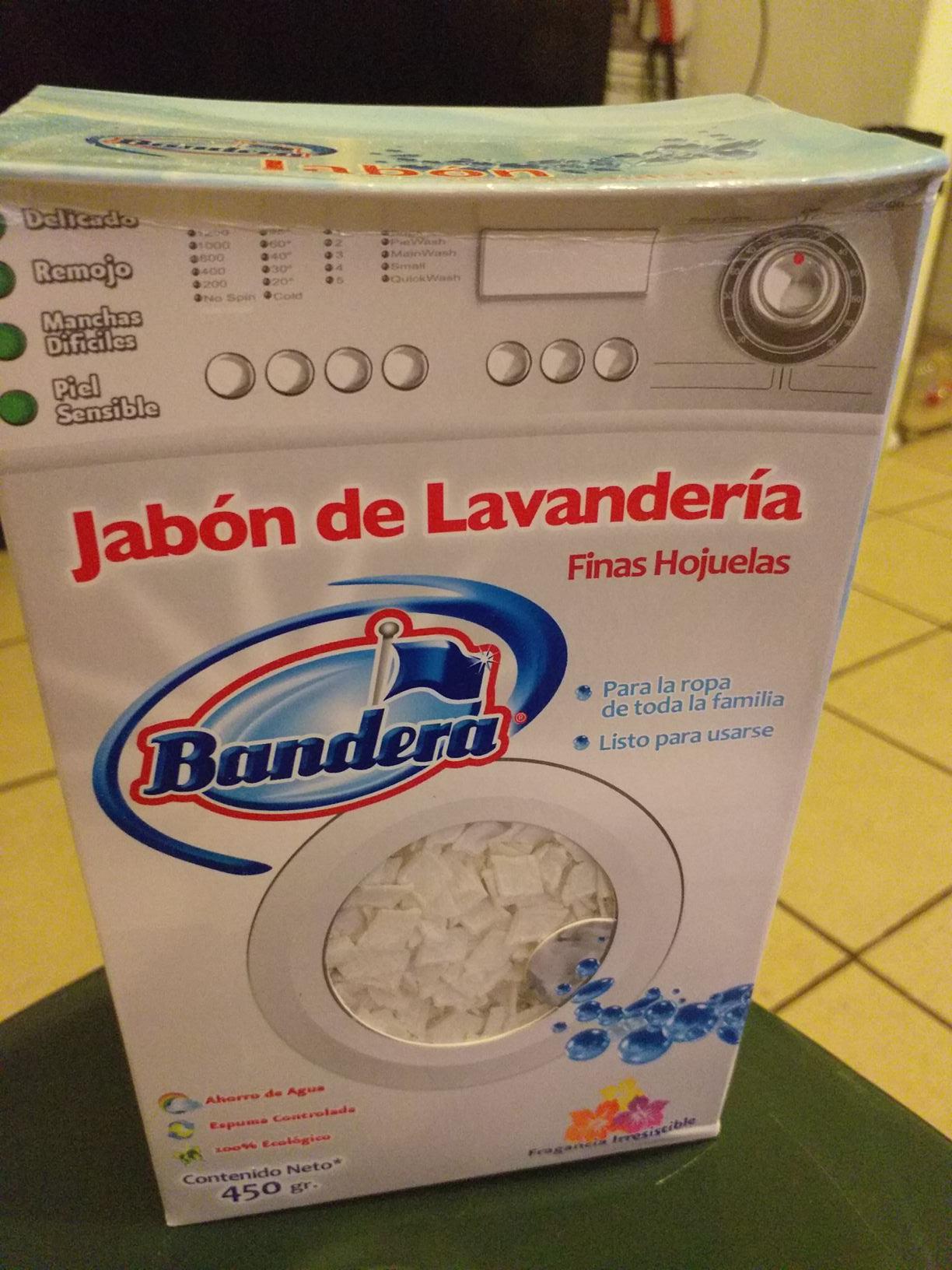 Bodega Aurrerá Plaza Churubusco caja de Jabón de lavandería a $10.03