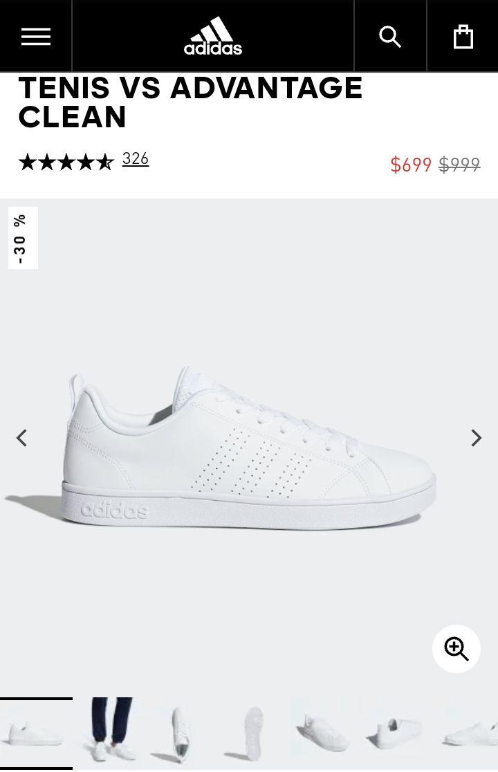 Adidas advantage clean + envío gratis