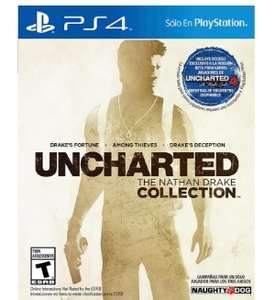 Walmart: Uncharted the Nathan Drake Collection PlayStation 4