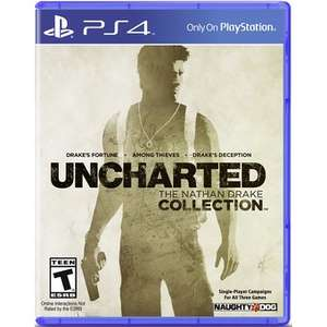 Linio: Videojuego Uncharted The Nathan Drake Collection para PS4 a solo $178