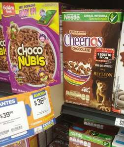 Chedraui: Cheerios Chocolate + Boleto Cinemex