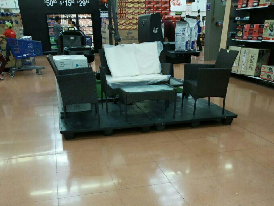 Walmart: set living terraza