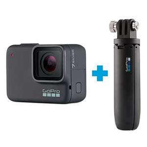 Amazon: GoPro Bundle HERO7 Silver + Shorty con Batería Recargable, Cable USB C.7