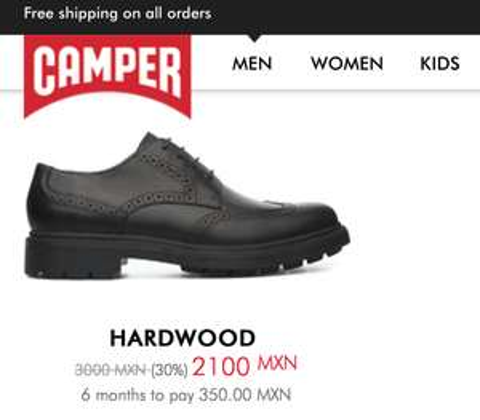 Camper: zapatos y botas con hasta el 40% de descuento (Hombre, mujer y niños)