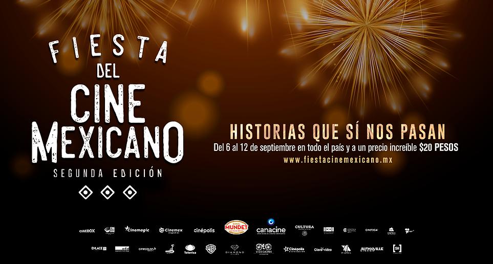 Fiesta del Cine Mexicano. Segunda edición. Del 6 al 12 de septiembre
