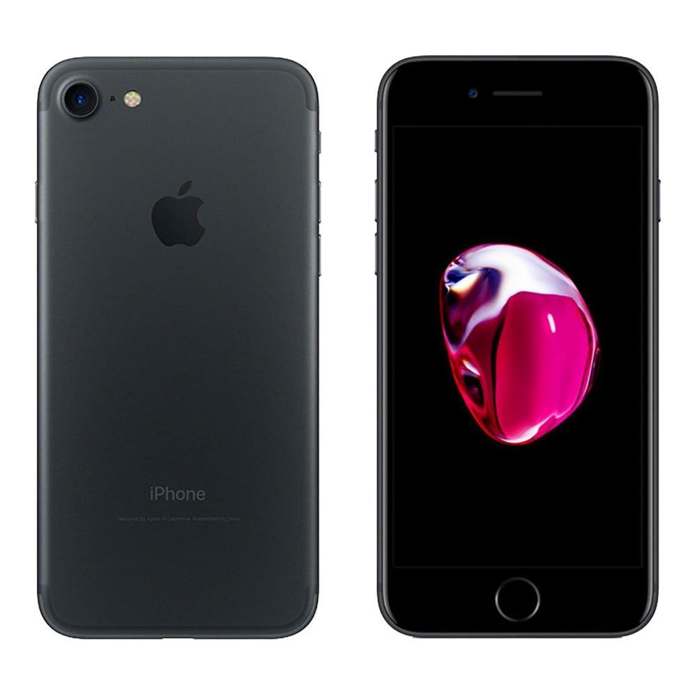 Walmart: iPhone 7 Apple 32 GB Negro Reacondicionado con inbursa a msi